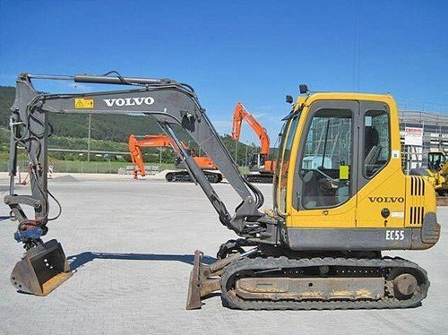 Product picture Volvo EC55 Compact Excavator Service Repair Manual INSTANT DOWNLOAD