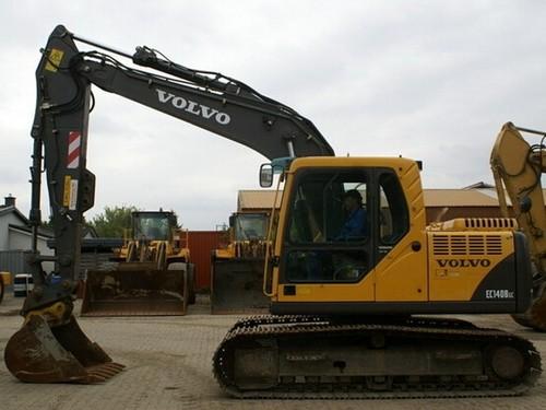 Product picture Volvo EC140B LC EC140BLC Excavator Service Repair Manual INSTANT DOWNLOAD