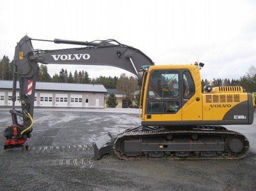 Product picture Volvo EC160B LC EC160BLC Excavator Service Repair Manual INSTANT DOWNLOAD