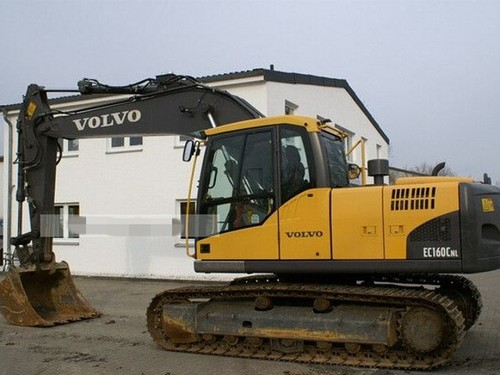 Product picture Volvo EC160C NL EC160CNL Excavator Service Repair Manual INSTANT DOWNLOAD