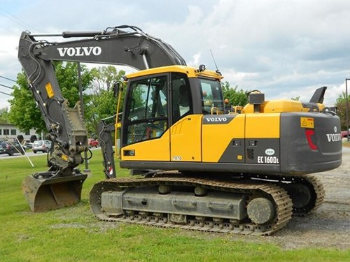Product picture Volvo EC160D L EC160DL Excavator Service Repair Manual INSTANT DOWNLOAD