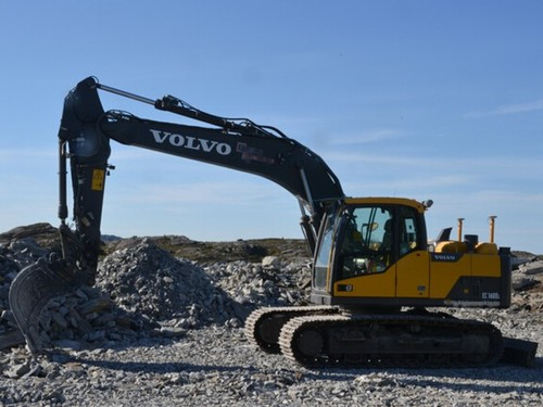 Product picture Volvo EC160D NL EC160DNL Excavator Service Repair Manual INSTANT DOWNLOAD