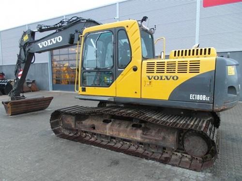 Product picture Volvo EC180B LC EC180BLC Excavator Service Repair Manual INSTANT DOWNLOAD