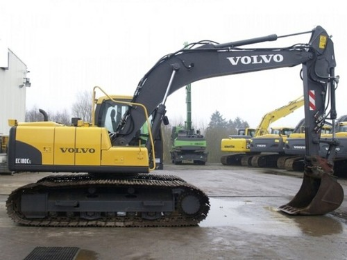 Product picture Volvo EC180C L EC180CL Excavator Service Repair Manual INSTANT DOWNLOAD