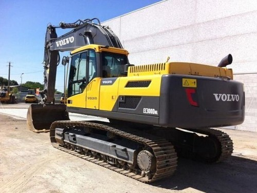Product picture Volvo EC300D NL EC300DNL Excavator Service Repair Manual INSTANT DOWNLOAD