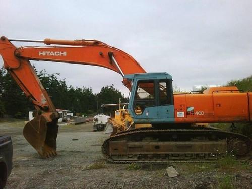 Product picture Hitachi EX400-3, EX400-3C Excavator Service Repair Manual INSTANT DOWNLOAD