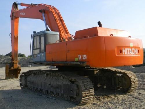 Product picture Hitachi EX550-5, EX600H-5 Excavator Service Repair Manual INSTANT DOWNLOAD